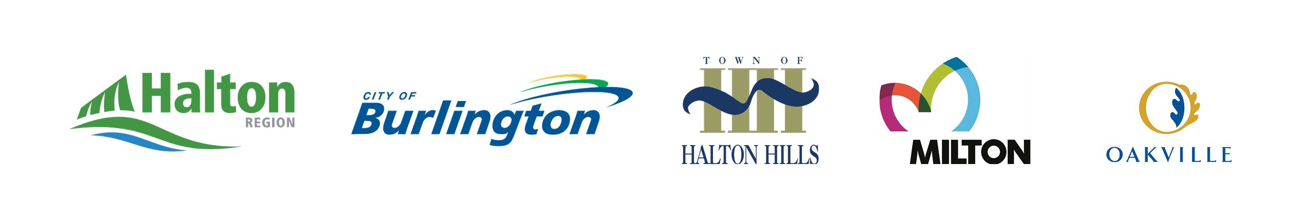 Halton Region Municipality Logos